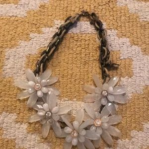 Anthropologie Daisy statement necklace